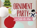 Ornament Painting Party- December 10th
