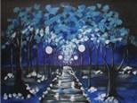 "Canvas Night ""Winter's Eve"""