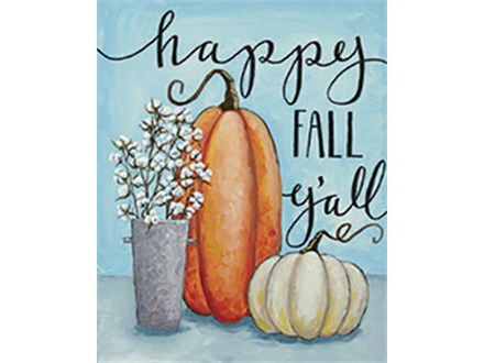 Canvas - Happy Fall Y'All - 11.15.18 - Evening Session