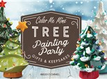 Tree Painting Party at Color Me Mine - Naperville