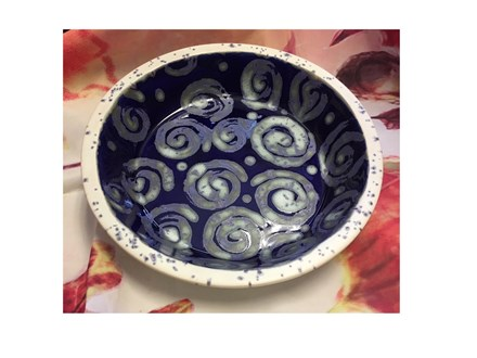 Pottery Class: Stoneware Pie Plate!