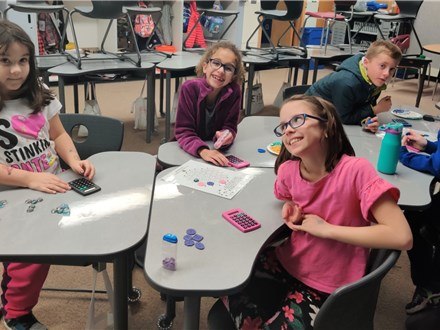"2nd and 3rd gr enjoy playing ""Making Pathways-Addition""©. because it makes for a fun way to pracitce multi-digit addition! They also get verification skills with a calculator!"