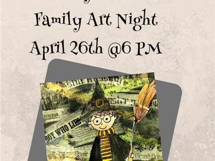 Harry Potter Family Art Night