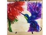 Adult Alcohol / Ink - Hummingbird - 7-20