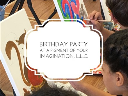 Van Gogh Pottery Painting event