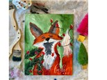 Fox Family Day Virtual Paint Class