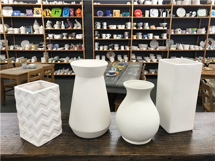 Pottery to Go Large Vase - Just add Flowers!