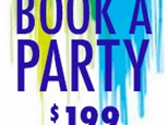 Book a Private Party Tuesday Special – $199