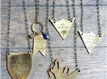 Metal Stamping Jewelry Workshop - Mar 17