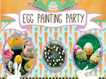Annual Egg Painting Party-  Saturday March 28th.