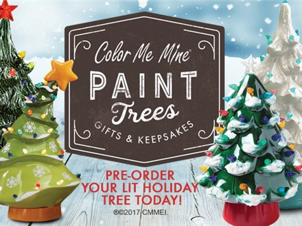 Light-Up Christmas Tree Painting Party - November 8