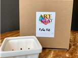 PoGo Kits: Paint Your Own Pottery ToGo! (Berry Basket Kit)