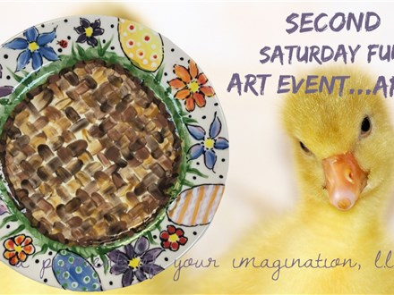 Second Saturday Fun Art Event April