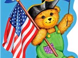 Story Time Art - Corduroy's 4th of July - Morning Session - 07.02.18