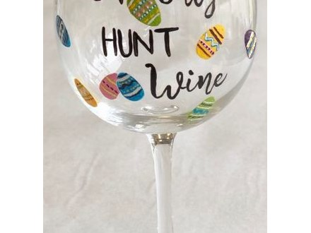 Ladies Night Out - Easter Wine Glass - 04.13.19