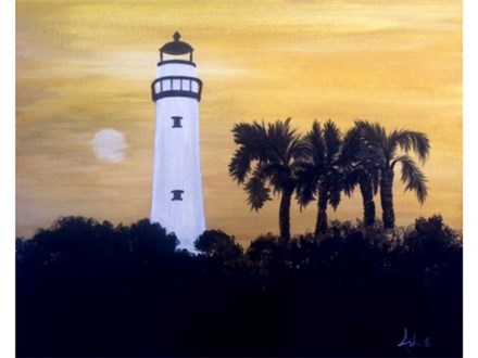 SSI Lighthouse (16x20 canvas)