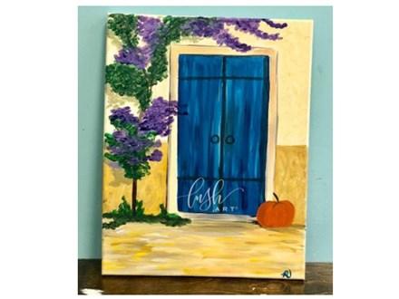 Fall Door Paint Class