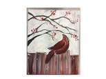 Paint 'n Sip: Cardinal on Fence