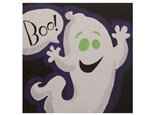 Kid's Canvas Class- Boo the Ghost- Fri, Oct 26th- 6:30 to 8pm