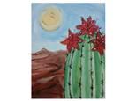 Flowering Cactus! - Paint & Sip - Sept 7