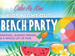 KIDS NIGHT OUT - BEACH PARTY - MAY 21