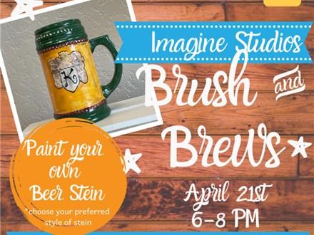 Brush & Brews at Natural State Beer