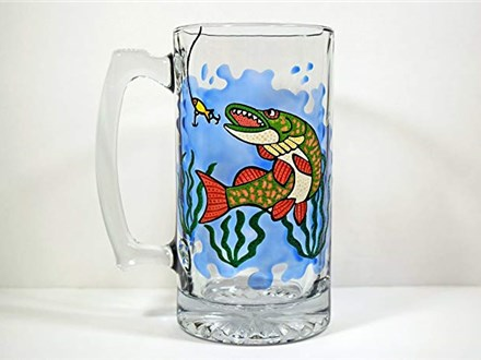 Glass Painting - Beer Steins - 08.02.19