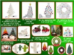 'Lighted' Holiday Pottery TO-GO Kits