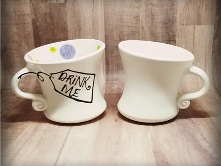 Whimsy Teacup - Ready to Paint