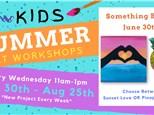 Kids Art Workshop - Something Beachy 6/30