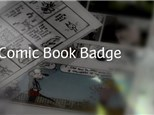 Comic Artist Badge for Scouts