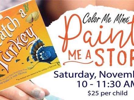 Paint Me A Story - November 17th