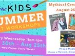 Kids Art Workshop - Mythical Creatures 8/25