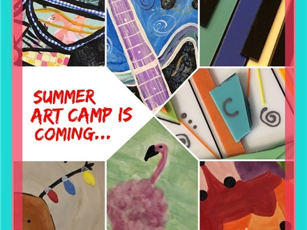 Summer Art Camp 2018 Week 7