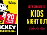 Kids Night Out - Mickey's 90th Anniversary - November 16