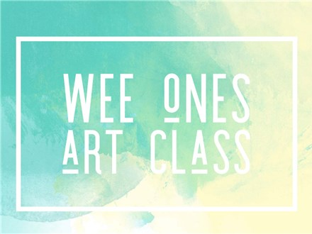 Wee Ones Art Class for ages 2-5 (Deposit)