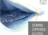 Sew a Zippered Clutch