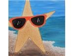 Kids' Canvas Class!  Starfish!  8/6/16