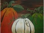 Rustic Pumpkins Canvas Class!
