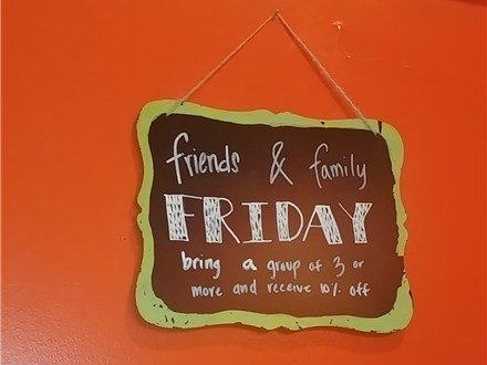 FRIENDS & FAMILY FRIDAY!