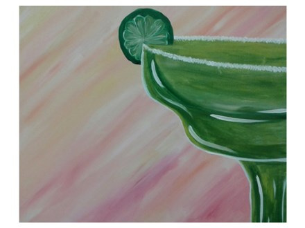 Five O'Clock Somewhere - Paint & Sip - July 22