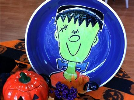 Frankenstein Candy Bowl Class 10/17/2014