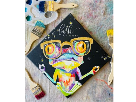 Frog Paint Class