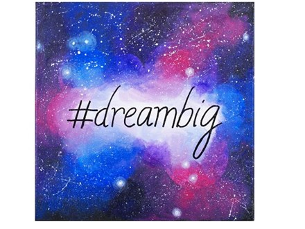 Dream Big - Canvas - Homeschool