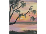 Marsh Sunset - 16x20