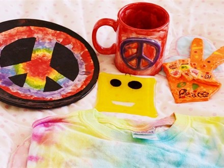 Peace Love and Pottery - Art Adventure - Full Week