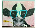 Dairy Cow Paint Class