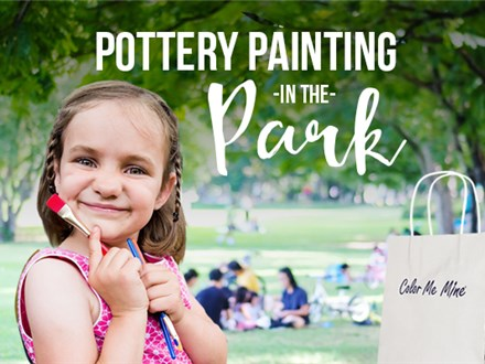 Pottery Painting in the Park