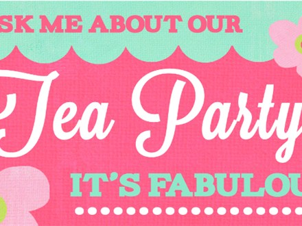 Tea Party - Color Me Mine of Ridgewood