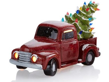Vintage Truck and Tree Nov. 14